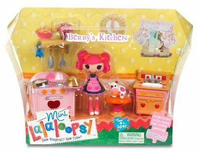 LALALOOPSY MINIS BERRY'S KITCHEN PLAYSET Brand New & Sealed