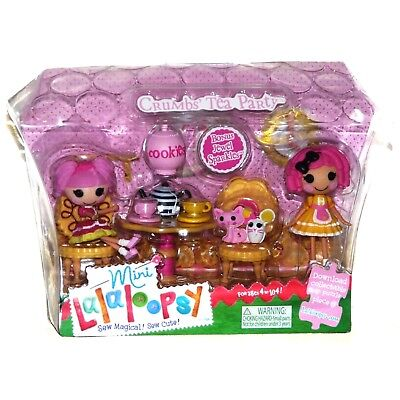 LALALOOPSY MINIS CRUMBS' TEA PARTY PLAYSET Brand New & Sealed