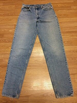 VTG 90's High Waisted Red Tab Levi's W 32 L 35 Destroyed Distressed Frayed