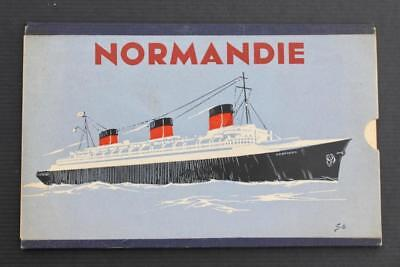 Cgt French Line Ss Normandie First Class Moveable Passenger Deck Plan