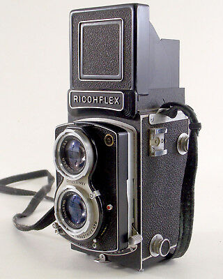 Vintage TLR Ricohflex camera, the second version of the Dia