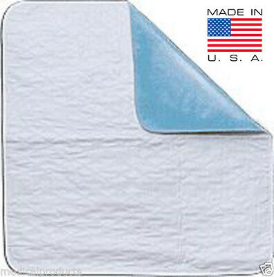 NEW BED PAD REUSABLE UNDERPADS 18x24 HOSPITAL MEDICAL INCONTINENCE WASHABLE