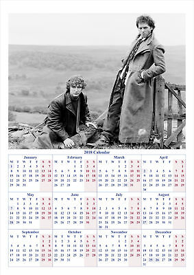 Withnail and I - 2018 A2 POSTER CALENDAR ***LATEST BUY 1 GET 1 FREE OFFER***