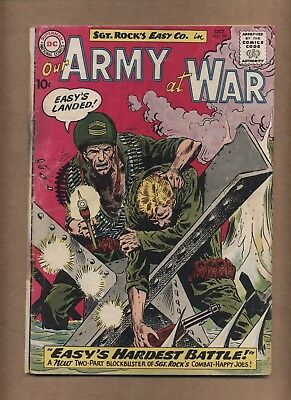 Our Army at War 99 (FRG) Kubert Sgt. Rock Easy Co. 1960 DC Comics (c#15757)