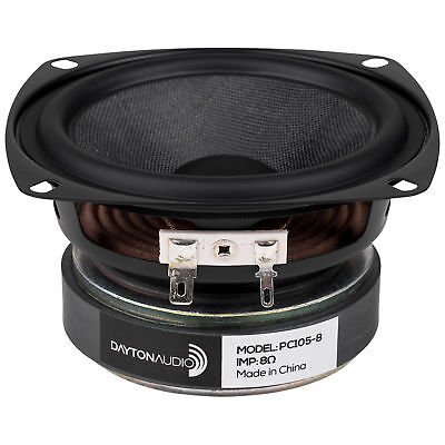 "Dayton Audio PC105-8 4"" Full-Range Poly Cone Driver"