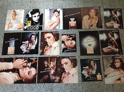 CHANEL COCO Lot 18 publicités Advertisings Set Clippings Parfum Cuttings
