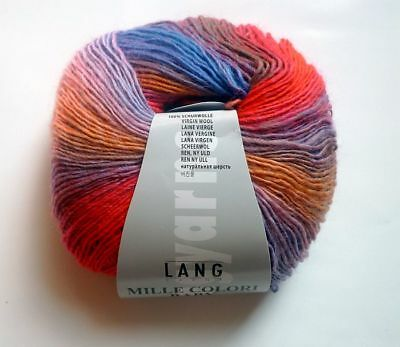 Lang Yarns Mille colori baby 190 m/50g Fb. 61 melliert  GP: 100g/13,00€