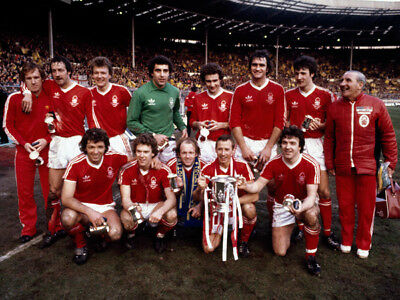 NF-001 : 8x6 PHOTO - NOTTINGHAM FOREST 1979 LEAGUE CUP WINNERS