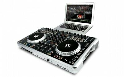 Numark N4 Digital DJ Controller 4-Channel  with Mixer