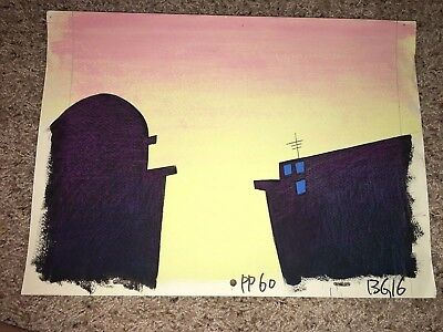 Pink Panther Highly Detailed Production Background Animation Cel*make Offer*