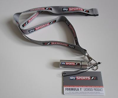 Official 2017 Goodwood Sky Sports F1 Lanyard Ear Plugs Canister New Formula One