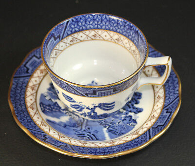 Royal Doulton The Majestic Collection Booths REAL OLD WILLOW TC1126 Cup & Saucer