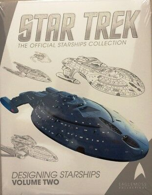 Star Trek: Designing Starships, Band book 2 Eaglemoss OVP english