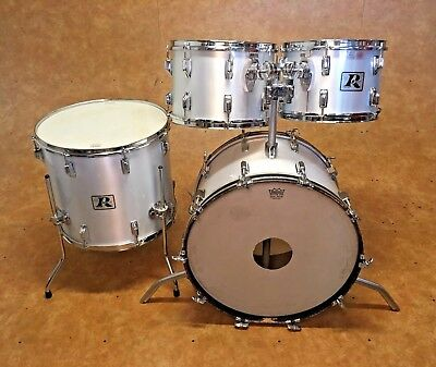 Vintage 1970's Rogers Big R 4pc Drum Kit Shell Pack