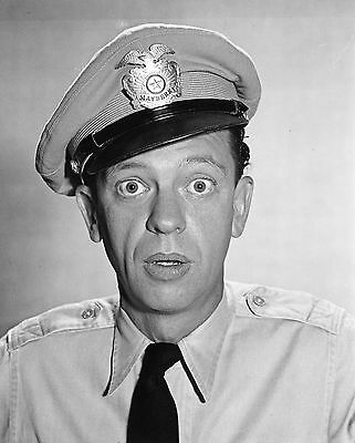 """The Andy Griffith Show"" Don Knotts 8x10 TV Memorabilia FREE US SHIPPING"