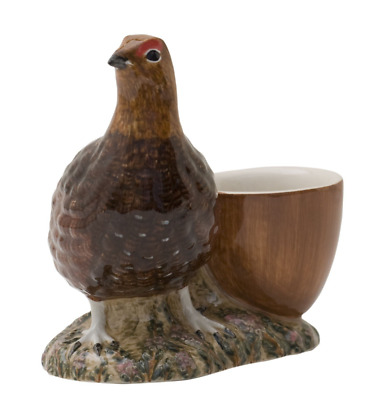 Quail Ceramics - Red Grouse with Egg Cup