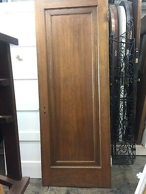 "Single Panel Interior Door Old 30""x79-1/2"""