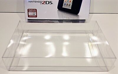 1 Box Protector for NINTENDO 2DS Console Boxes (NTSC) Fits Zelda Link Clear Case
