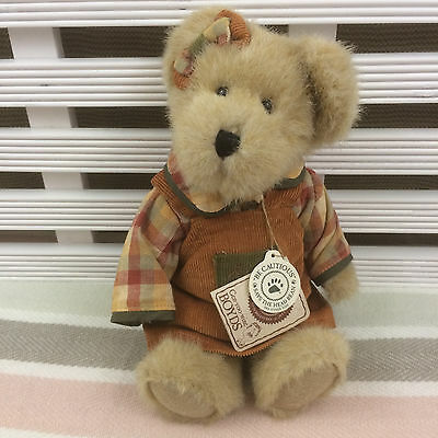 "TJ's Best Dressed Collection Boyd's Bear Kimberly Punkinbeary 10"" with tags"