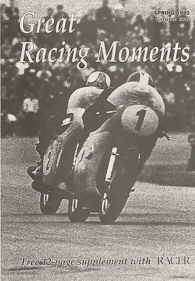 Great Racing Moments Magazine Supplement