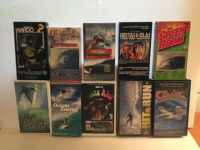 10 Surfing VHS tapes videos of best surfers Where's Wardo Global Locations
