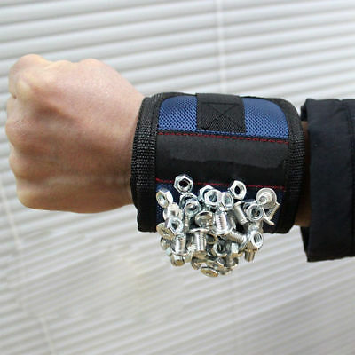 Magnetic Wristband Embedded for Holding Tools Screws Nails Bolts Kool Gadgets