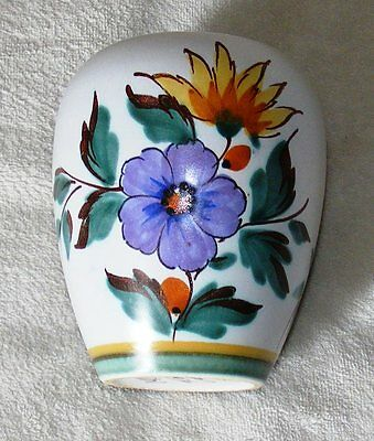 Lovely - Gouda - Holland - Flora - Viola - Handpainted Vase
