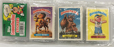 1986 TOPPS Garbage Pail Kids Stickers 24 Pack # 1 MOC