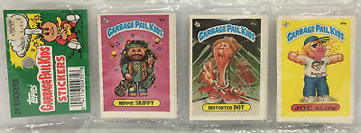 1986 TOPPS Garbage Pail Kids Stickers 24 Pack # 2 MOC