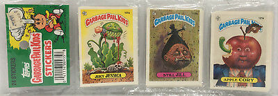 1986 TOPPS  Garbage Pail Kids Stickers 24 Pack # 4 MOC