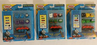 Thomas & Friends Take-n-Play Train Maker Construction Pack Lot of 3 Fisher Price