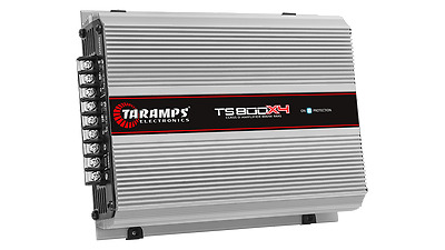 Taramps TS-800x4 4-Channels 2 OHM 800 Watts RMS Class D Power Amplifier