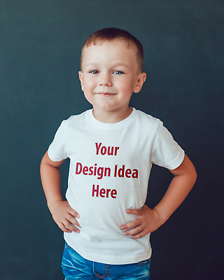 Childrens T-shirt Your Own Personalised design idea, T-shirt or bodysuit kids