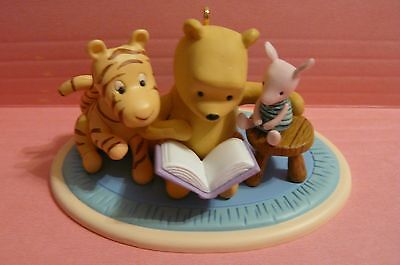 """2008 Hallmark """"ONCE UPON A STORY"""" Winnie the Pooh Collection"""
