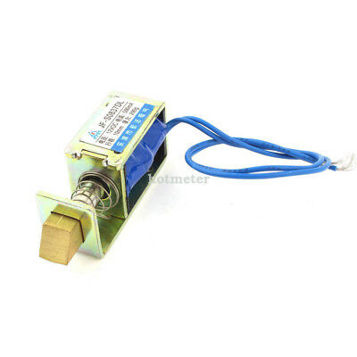 H● JF-S0837DL Electric Door Lock Open Frame Solenoid Electromagnet