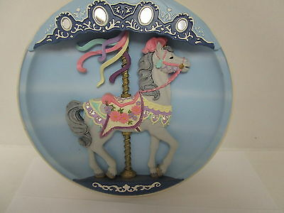 Vintage Classic Old Rhodes Studios  Musical Carousel Horse Collectors Special