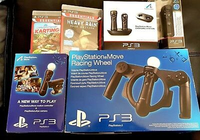 Sony PlayStation 3 Move Motion Mega Bundle NEW/Sealed PS3 Gaming Package
