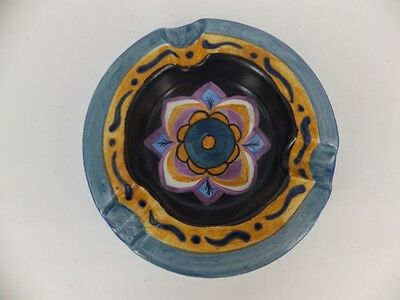 Carlton Ware Handcraft -pattern Orchid 3255 Ashtray - Excellent condition