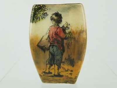 Royal Doulton Old English Gleaners Series - Miniature Vase