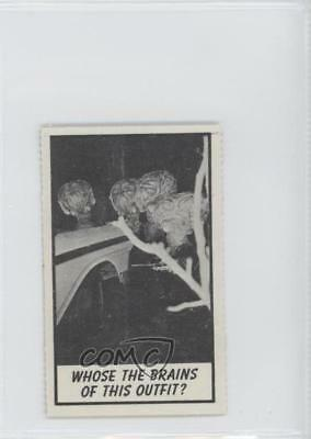 1963 Topps Monster Midgees Mini-Monster Laffs #36 Non-Sports Card 0a3