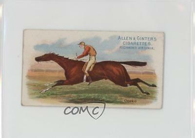 1888 Allen & Ginter The World's Racers Tobacco N32 #ONEK Oneko Card 1s8