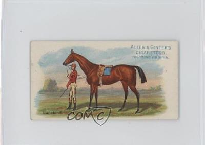 1888 Allen & Ginter The World's Racers Tobacco N32 #RACE Raceland Card 1s8