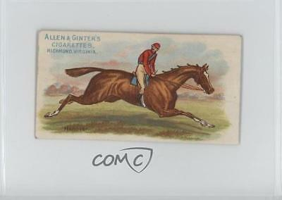 1888 Allen & Ginter The World's Racers Tobacco N32 #HANO Hanover Card 1s8
