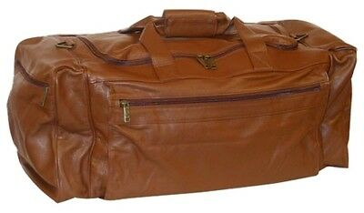Scully Western Duffle Bag Sierra Collection Leather Zipper 804-17