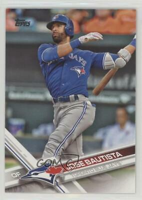 2017 Topps #60.1 Jose Bautista (Batting) Toronto Blue Jays Baseball Card