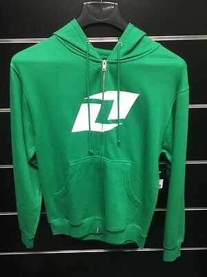 One Industries Green Zip Hoody adults