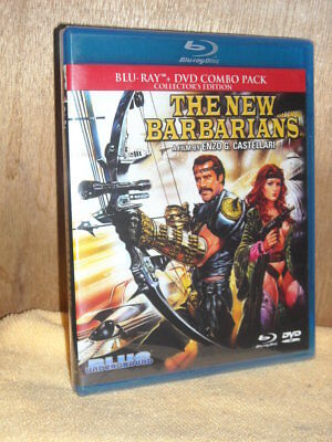 The New Barbarians [Warriors of the Wasteland] (Blu-ray/DVD, 2015, 2-Disc) NEW