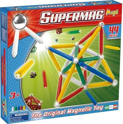 NEW SuperMag Maxi 44 Pc from Mr Toys