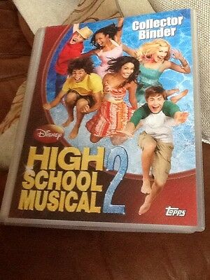 Near Complete Topps Disney High School Musical 2 Binder