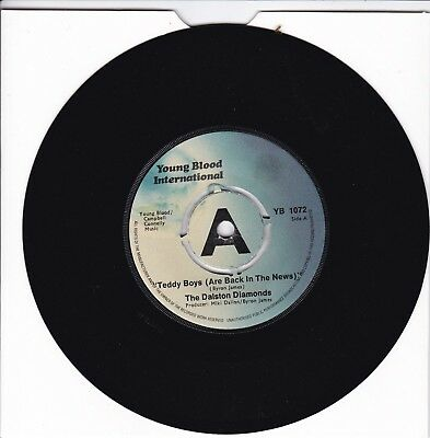 """Dalston Diamond..teddy Boys (Are Back In The News)Excellent Young Blood Rock 7"""""""